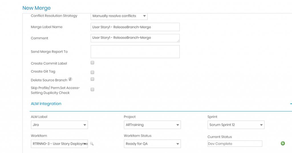 Auto-merge-Salesforce Continuous Integration with AutoRABIT