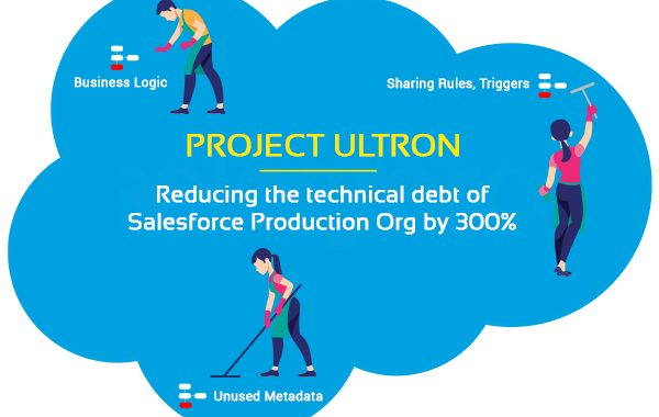 Project Ultron - Reducing the technical debt of Salesforce Production Org by 300%